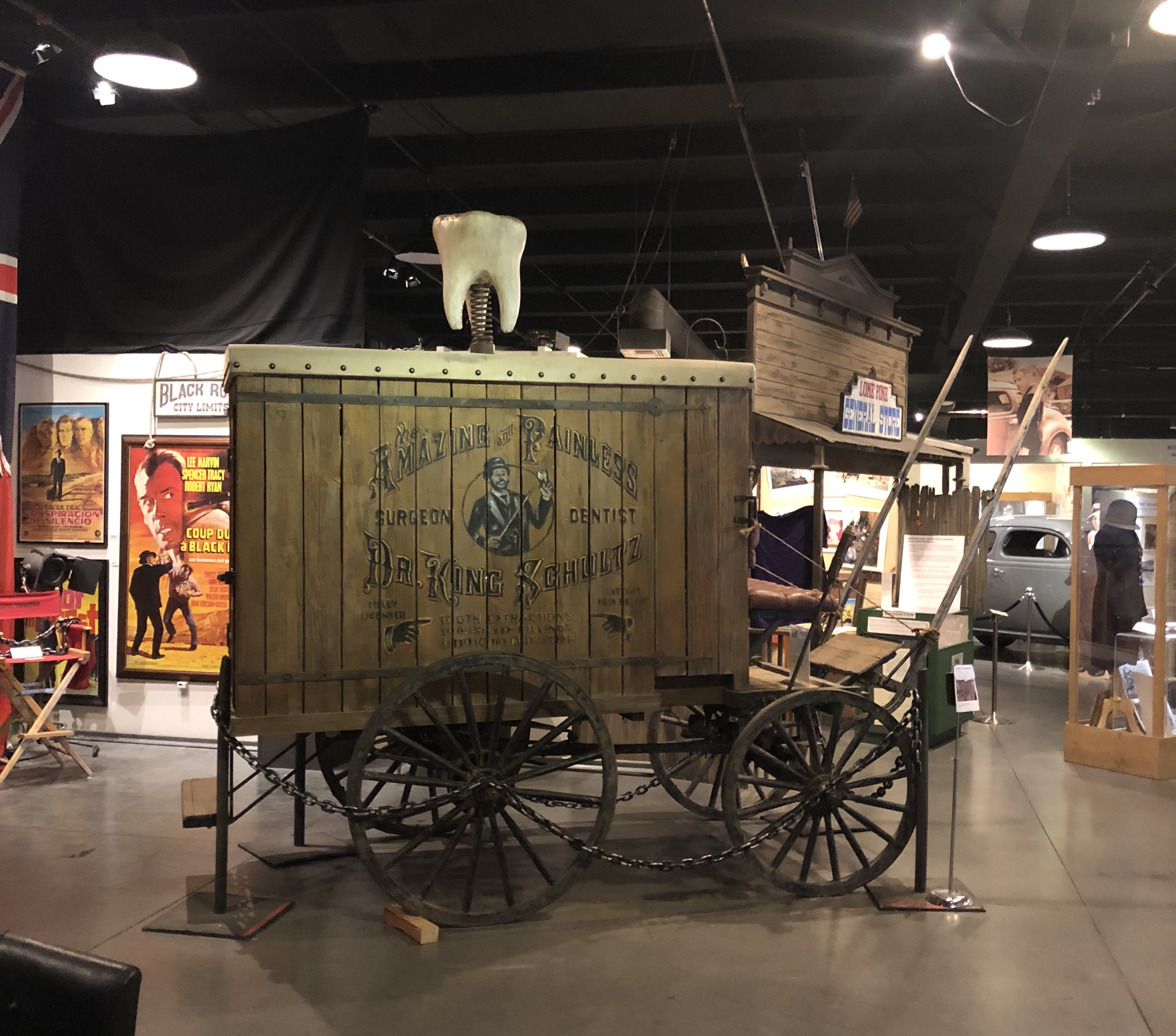 The Dentist Cart from Django Unchained