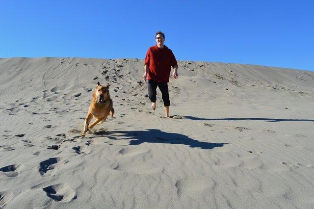 Burdeau Sand Dunes