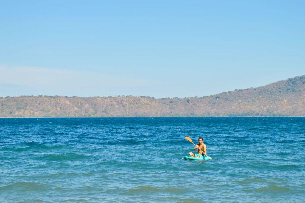 Lagoon Apoyo Kayaking